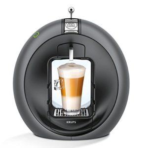 Kapselmaschine Test Krups Nescafé Dolce Gusto Circolo Kaffeekapselmaschine, KP 5010, manuell, Charcoal Grey - 2