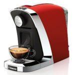 Kapselmaschine Test Tchibo Saeco Cafissimo Tuttocaffè Kapselmaschine für Kaffee, Espresso und Caffè Crema, Rosso - 1